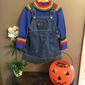 Rainbow Bright Kid VTG sweater 🌈 baby